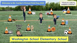 Physical Education Teacher Creates Virtual Field Day