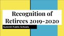Recognition of Retirees 2019-2020