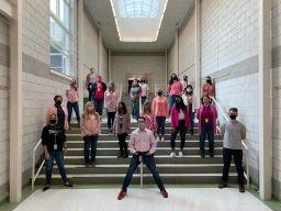 Jefferson Staff Supports Breast Cancer Awareness