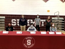 SHS Celebrates National Signing Day for Student-Athletes