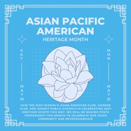 Summit Public Schools Teams with SHS Students to Celebrate AAPI Heritage Month